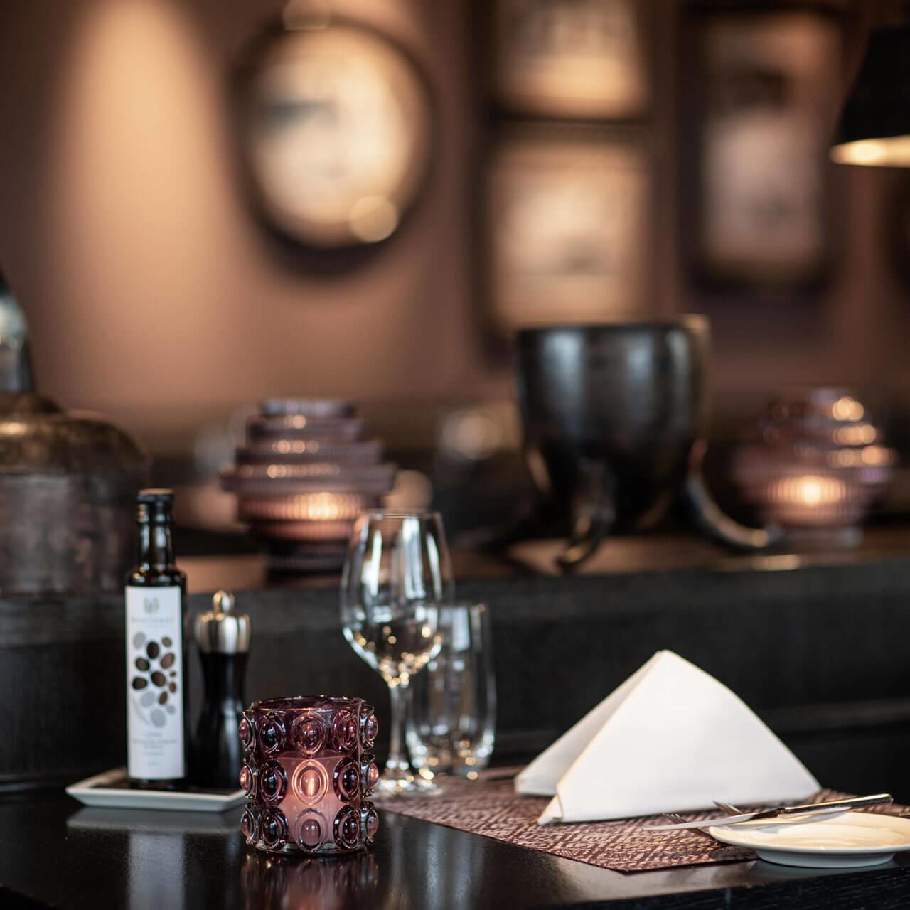 Tischgedeck Pulsa Restaurant